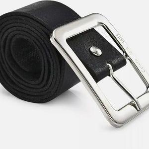 Sale MENS Ck jeans. PU LEATHER BELT BLACK